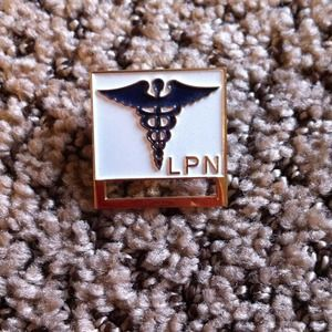 Accessories - LPN name tag holder.