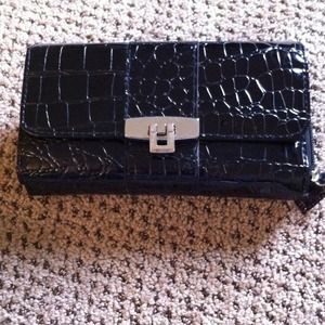 Clutches & Wallets - Wallet with checkbook area.