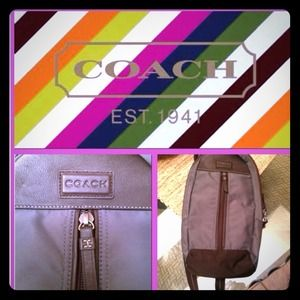 Coach Bags - Coach one strap backpack/bag