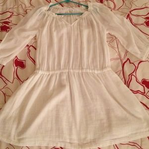 NWOT J. Crew white summer dress