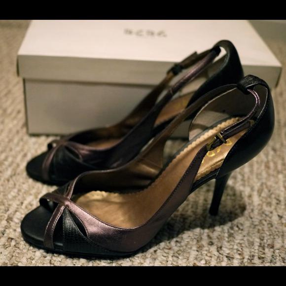 BCBG Shoes - 🎉SOLD🎉BCBG PARIS leather high heels shoes