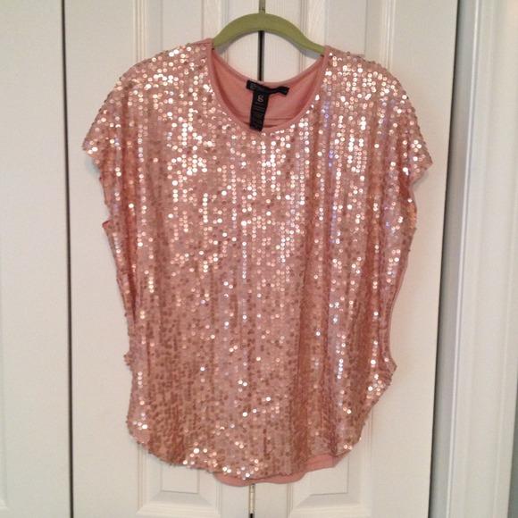 5f7d4ab7f063fd Pink Sequin Shirt - Shirt N Pants