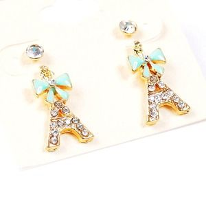 Pretty little Eiffel Tower earrings