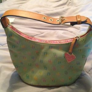 Authentic Dooney & Burke purse