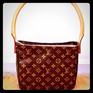 Reduced - Authentic LV Mono Looping Shoulder Bag