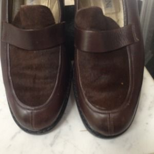 Yes saint Laurent. Loafers brown 9