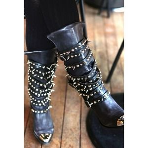 Jeffrey Campbell Boots - Jeffrey campbell free people kravitz boots