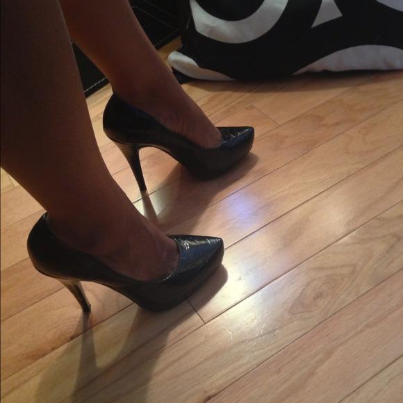 Steve Madden Shoes - 🚫Sold🚫Steve Madden luxe black croc 🚫