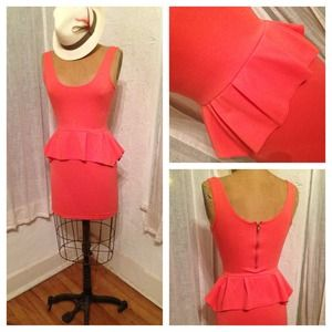 Poof Couture Dresses & Skirts - REDUCED!!!!!! Poof Couture Coral dress Small