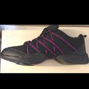 daf172df399 Shoes | Bloch Criss Cross Black Pink Dancing New | Poshmark
