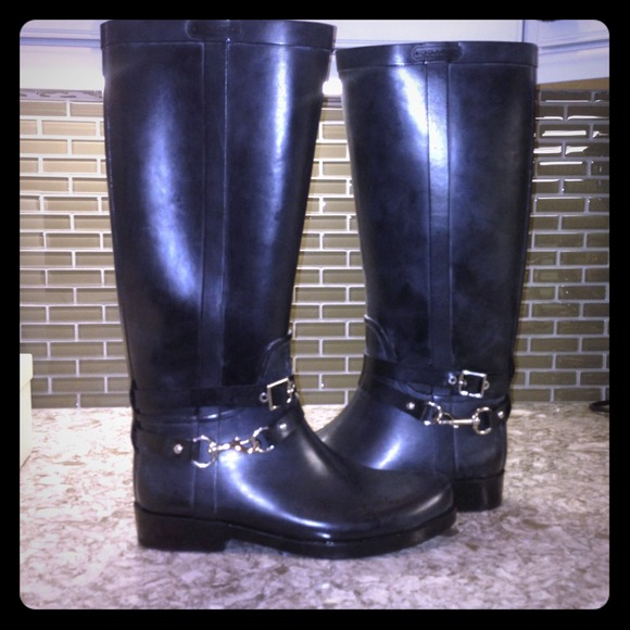 Coach Shoes - 🎉 Host pick 🎉 Coach rain boots