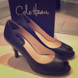 Cole Haan Pumps Open Toe Heels