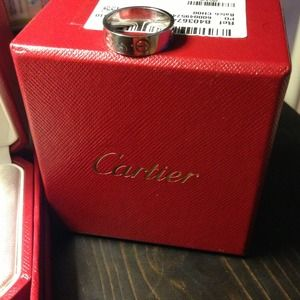 Cartier Love Ring pre loved, keeping for now
