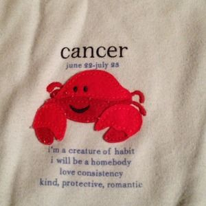 gap  Other - Baby gap long sleeve Cancer crab 18-24 month onesi