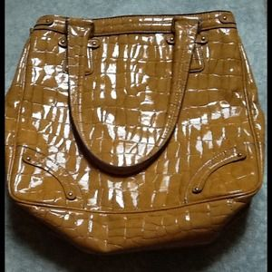 Golden yellow Liz Claiborne purse