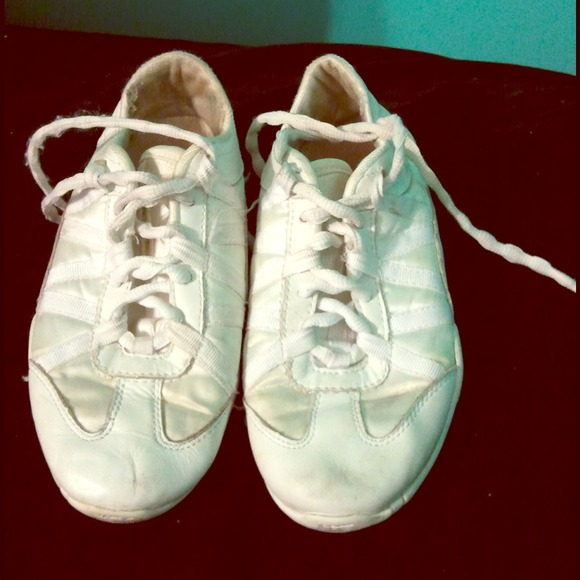 All White Cheer Shoes