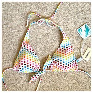 Aeropostale String Bikini Top