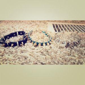 Brand new Spiked bracelets ✨