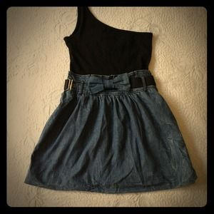 """On Sales"" Zara denim dress"