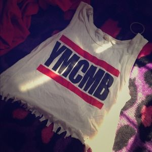 Tops - YMCMB crop top  /tights  bundle