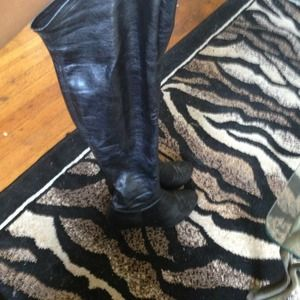 Over the knee Chinese laundry tight boots