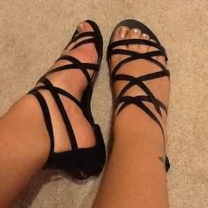 ***Reduced***J.Crew Reese Gladiator Sandals