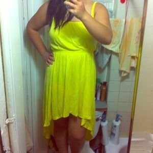 Forever21 cute high low dress!