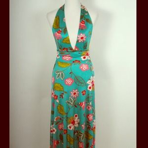 Spring/Summer Halter Dress
