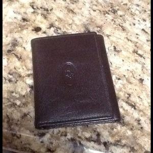 Christian Dior Tri-fold wallet