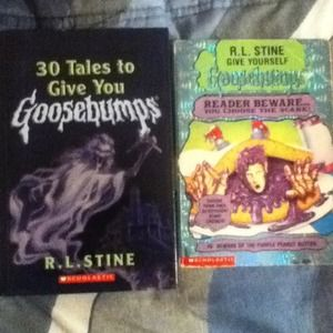 Other - Set of goosebumps books