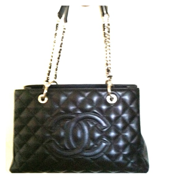 51% off CHANEL Handbags - Black Chanel tote from Ara's ...