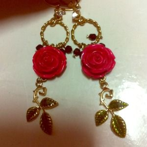 bundledBetsey Johnson earrings
