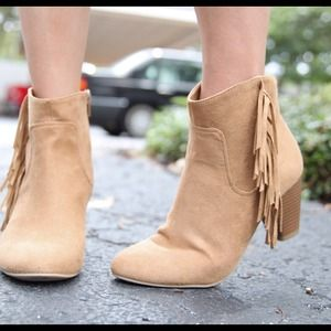 Chinese Laundry fringed boot