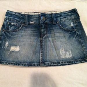Size 3 Denim Skirt
