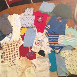 Other - Lot of boys clothes 0-3 3-6 months