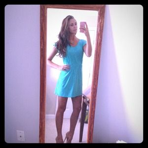 Dresses & Skirts - Blue-green sundress