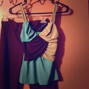 Color block Dress top