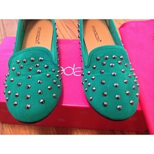 Shoedazzle Shoes - 🚫SOLD🚫Annie Studded Loafers