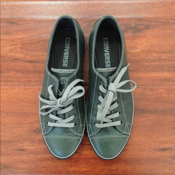 89f49d5976d8 Converse Shoes - NWOT Converse all stars brand new army green shoes