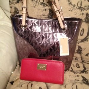  I'M IN LOVE- What I Got TODAY!! MK Bag&Wallet