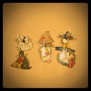 Disney collectible pins!