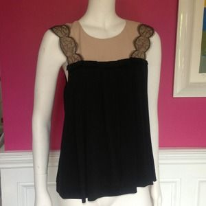 Phillip lim fabulous lace and jersey top M