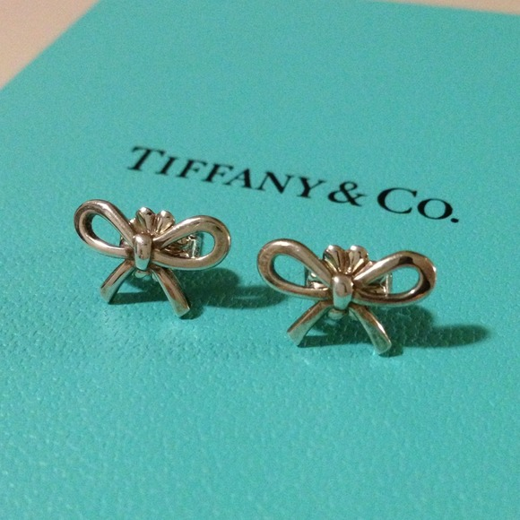 495136467 Tiffany & Co. Jewelry | Hp 1025 Tiffany Co Mini Bow Earrings | Poshmark