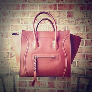 AUTHENTIC CELINE PHANTOM COGNAC OFFERS ARE WELCOME