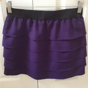 NWOT Central Park West Tiered Skirt