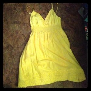 Dresses & Skirts - Size XL yellow sundress.