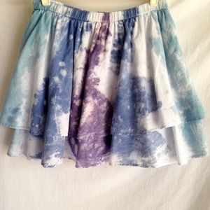 Mossimo Skirts - 🎉Host Pick!🎉 Gorgeous Tie-Dye Skirt Sz L