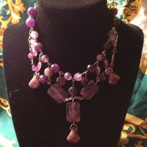 💢💢RESERVED💢💢Amethyst Necklace-$60