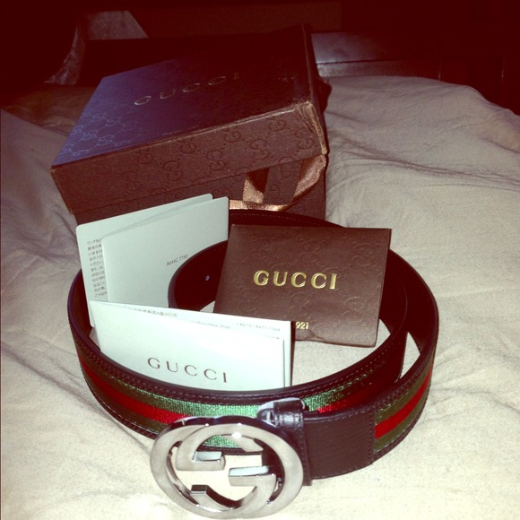 Gucci Sold П��authentic Gucci🔥belt New Size 36 From Julie S Closet On Poshmark
