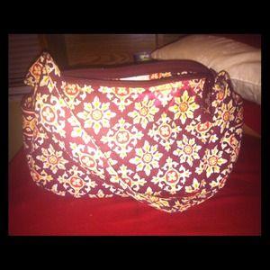 Vera Bradley purse with strap. $25